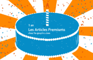 Les Articles Premiums fêtent leur 1ère année, donc prix en baisse !