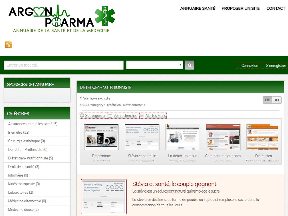 Annuaire médecine - Guide web de la santé et bien-être