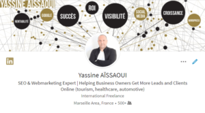 Titre de profil LinkedIn (version En)