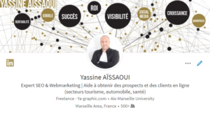 Titre de profil LinkedIn (version Fr)