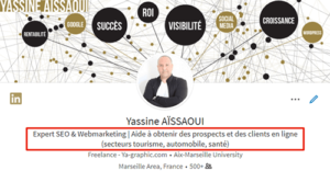Yassine AISSAOUI (profil LinkedIn)
