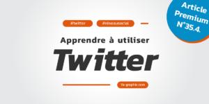 Formation pour apprendre à utiliser Twitter