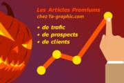 Halloween : -31% sur le tarif des Articles Premiums (offre limitée)