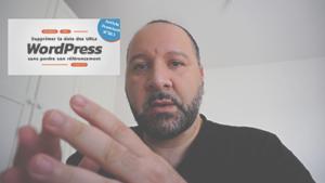 WordPress : Supprimer la date des URLs sans perdre son référencement