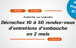 Pub LinkedIn: Décrochez 10 à 50 RDV d'entretiens d'embauche en 2 mois