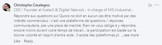 Quel est mon intérêt de répondre aux questions sur Quora ?