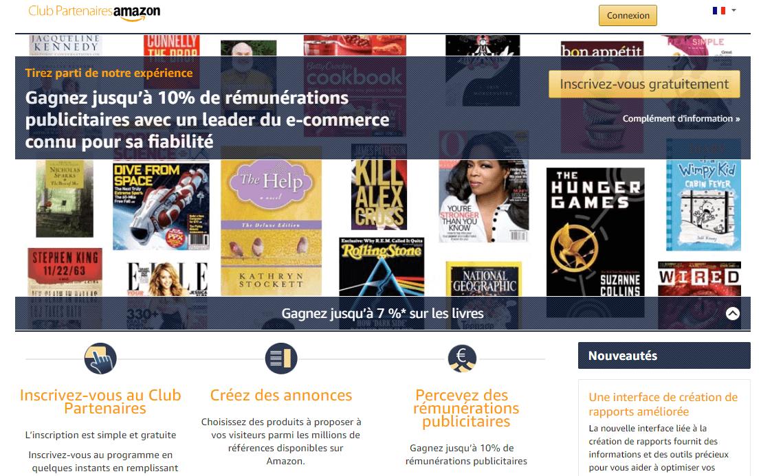 Le programme Partenaires Amazon