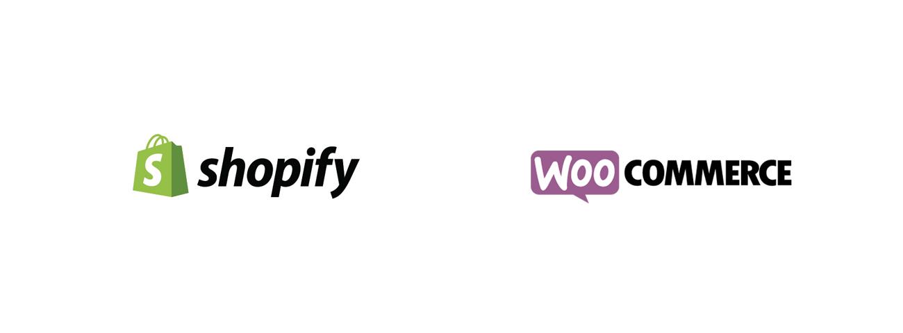 Shopify et WooCommerce