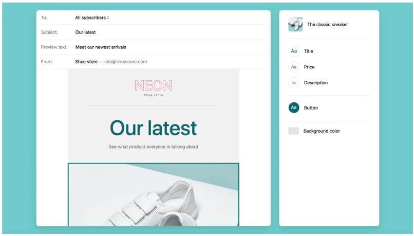 Shopify Email : personnaliser les e-mails que les clients recevront.