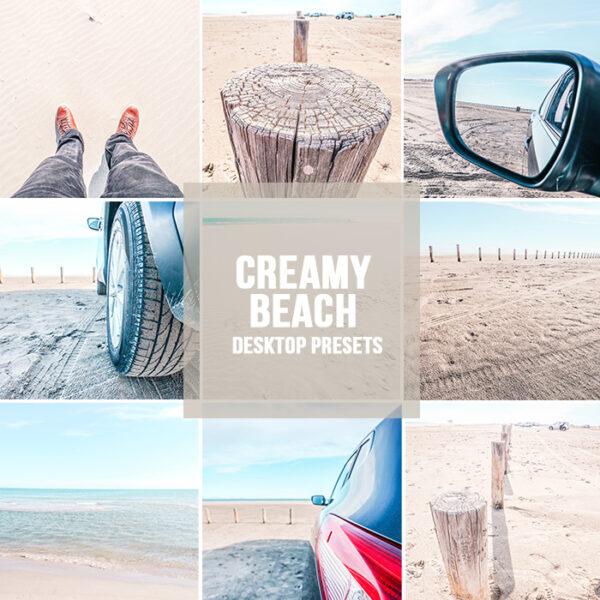 Creamy Beach Lightroom presets desktop