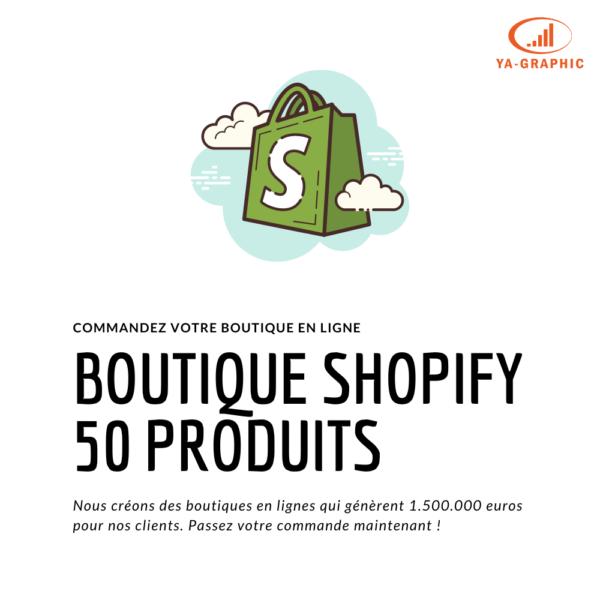 Acheter une boutique en ligne Shopify